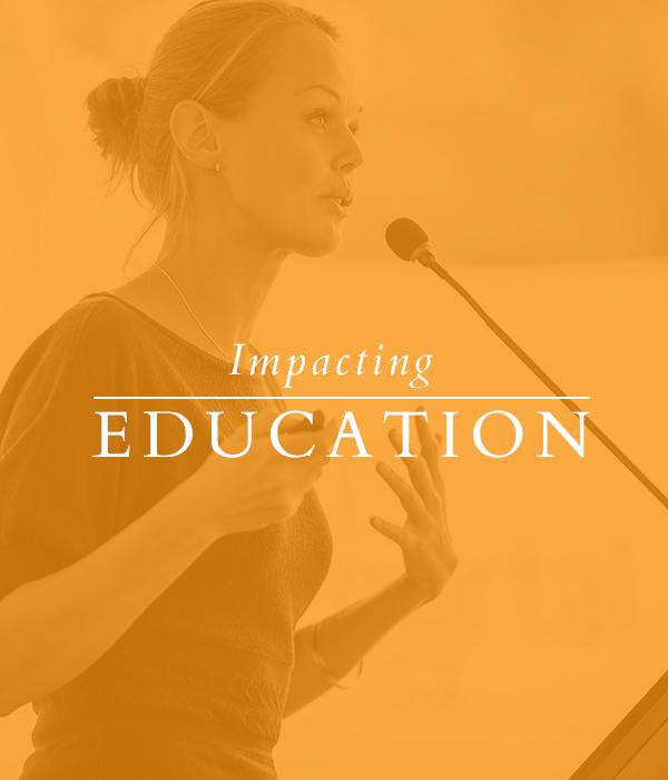 Impacting Education
